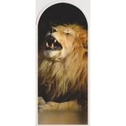 "Marque-pages ""Lion rugissant"""