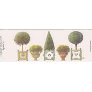 Marque-pages Topiaires et Arbustes