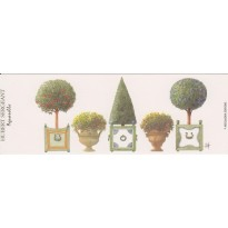 Topiaires et Arbustes, marque-pages