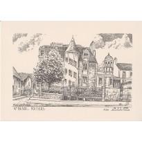 Cartes correspondance Hôtel particulier Jean Beaucé à Poitiers