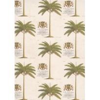"""Bloc Mémo """"Palmiers"""", papier luxe italien"""