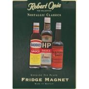 Magnet Sauces Anglaises ancienne publicite
