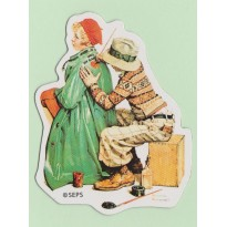 """Magnet Norman Rockwell, """"She's my Baby"""", film américain de 1927"""
