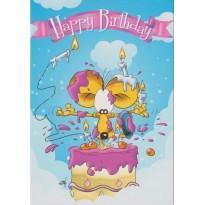 Carte d'anniversaire pour tous les âges