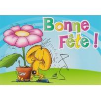 Carte Bonne Fête amusante pour tous