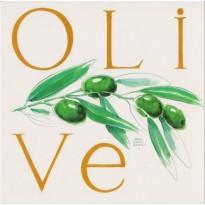 L'Olive, carte reproduisant une aquarelle de Jean-Marie Drouet