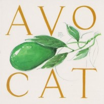 L' Avocat, Carte reproduction d' aquarelle de Jean-Marie Drouet