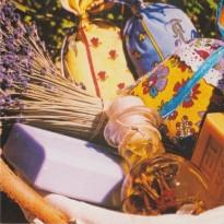 Toute la  Provence et ses spécialités, carte postale photo