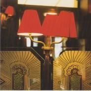 Café parisien, carte postale d'une photo d'art