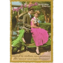 Marcel et Ginette, cartes postales nostalgiques de l'après-guerre !
