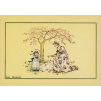Dessins de Kate Greenaway en 7 cartes postales au choix