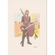 Chevaliers du Moyen Age, cartes postales au choix