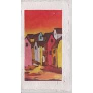 Paysages de Madagascar, 22 cartes artisanales sur papier fabriqué à la feuille