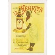 Rhum La Negrita, Mini carte publicitaire
