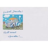 25 Enveloppes Label Deuche, la 2CV
