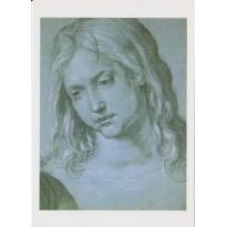 """""""Jésus à 12 ans au milieu des Docteurs"""", d'Albert Dürer, carte d'art reproduction d'un détail du tableau"""