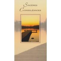 Cartes de Condoléances, 4 cartes au choix