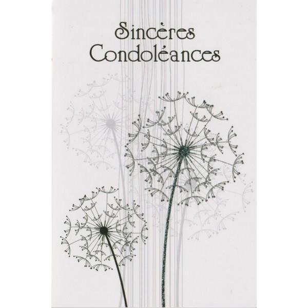 Cartes De Sinceres Condoleances Carterie Poitiers