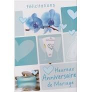 Heureux Anniversaire de Mariage, cartes pout toutes les Noces de 5 à 70 ans de mariage