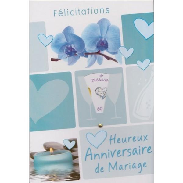 Cartes Pour Anniversaires De Mariage De 5 à 70 Années De