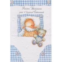 Sincères félicitations pour l'heureux événement, cartes pour une naissance