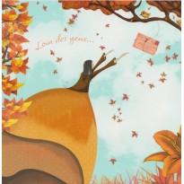"""""""Loin des yeux ..."""", carte de Saint Valentin"""
