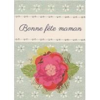 Bonne Fête Maman, Carte à fleur de Camélia