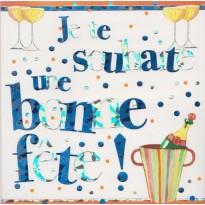 Je te souhaite une bonne fête ! Carte de Bonne Fête
