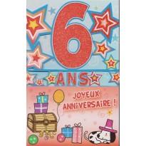 Cartes Anniversaires Enfants 4 ans à 10 ans