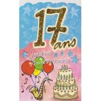 Cartes Anniversaires 17 ans à 30 ans, âge tendre et tête de bois !