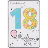 Cartes d'anniversaires pour 18, 20, 30, 40 ans ...