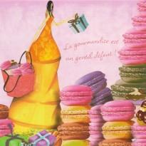 """Cartes d'anniversaire gourmands : """"La gourmandise est un gentil défaut"""" !"""