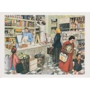 2 Cartes reproductions anciens tableaux pédagogiques