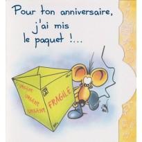 """Cartes d'anniversaires humoristiques """"Les souris en folie"""""""