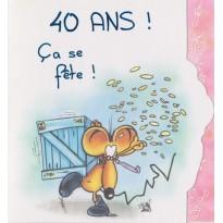 Cartes d'anniversaires humoristiques 18 ans, 20, 30, 40 et 50 ans
