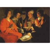"""""""Nativités"""" cartes d'art reproductions de tableaux de grands maîtres"""