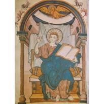Les Evangélistes de l'Evangéliaire d'Ada, cartes d'art