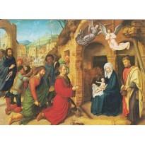 Adoration des Mages, de plusieurs grands peintres, en cartes d'art