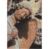 L' Ange au Sourire de la Cathédrale de Reims, carte d'art