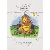 """Les """"Fables de la Fontaine"""" en cartes puzzles au choix"""