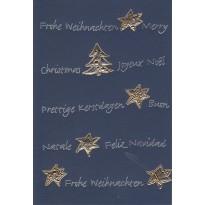 Lot de 10 cartes de Noël toutes différentes