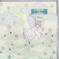 Carte de Noël O douce Nuit pour un ange !