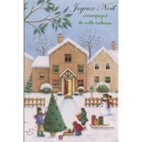 Lot de 10 cartes de Noël et Bonne année