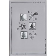 Set de 10 cartes de Noël variées