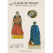 Carte Claude de France
