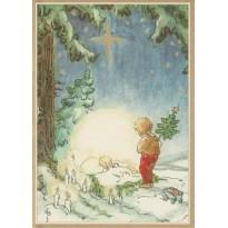 Cartes de Noël  illustrées pour les enfants