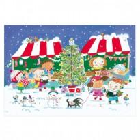 Marché de Noël, calendrier de l'Avent