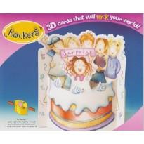 Surprise et Gâteau d'anniversaire, Carte en 3 D
