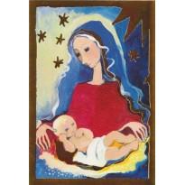 Noël à la crèche par Rosina Wachtmeister