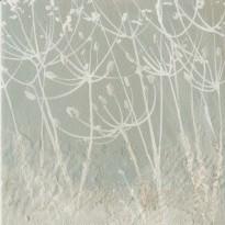 """""""Aigrettes de pissenlit"""", carte de voeux reproduction d'aquarelle"""